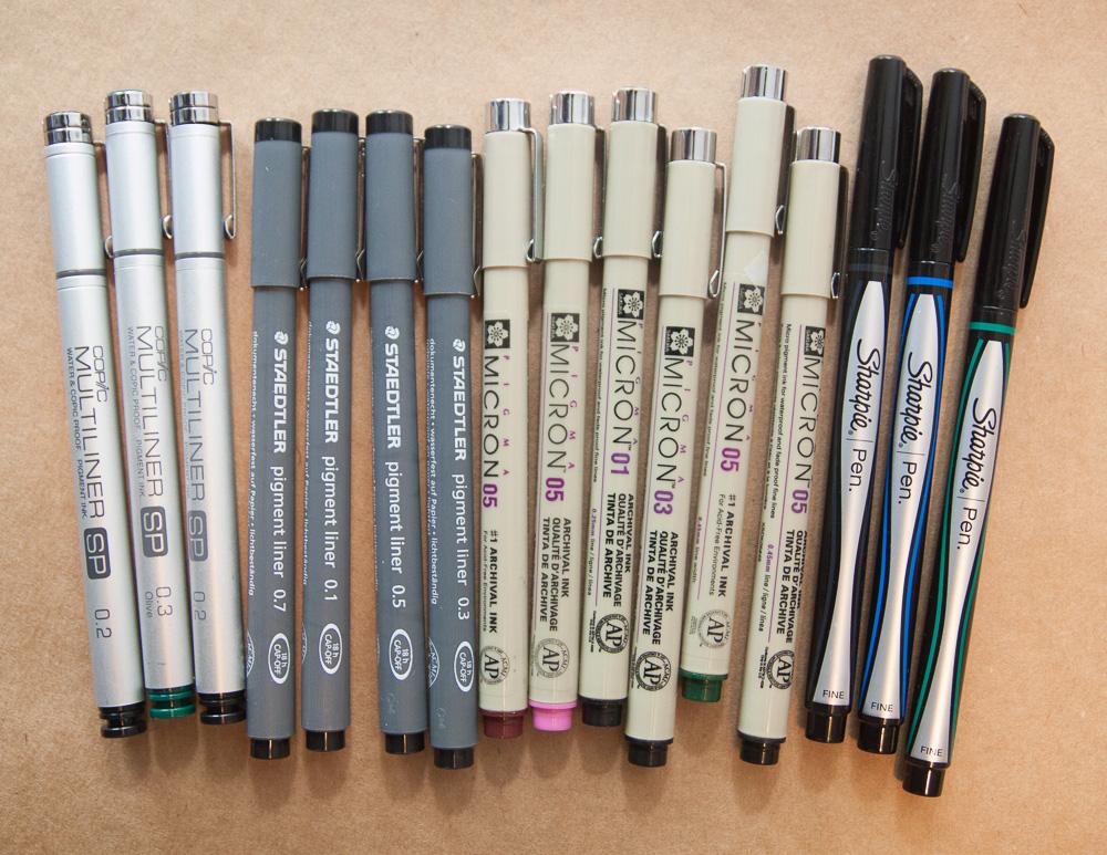 Pigment Pens