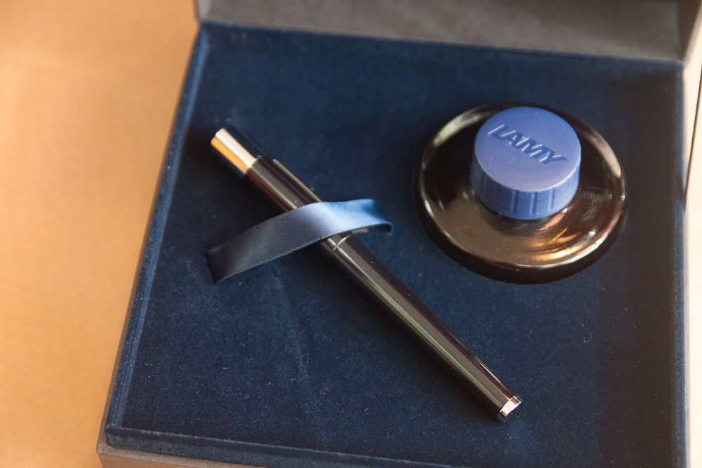 Lamy Scala Blueblack Special Edition in presentation box
