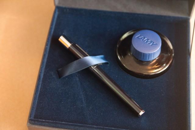 Lamy Scala Blueblack Special Edition in presentation box