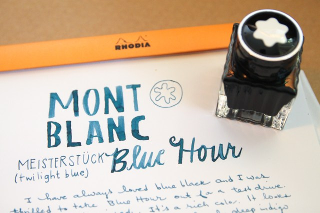 MontBlanc Blue Hour Ink