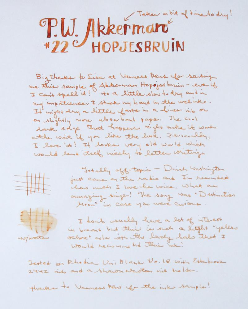 Akkerman Hopjesbraun Ink