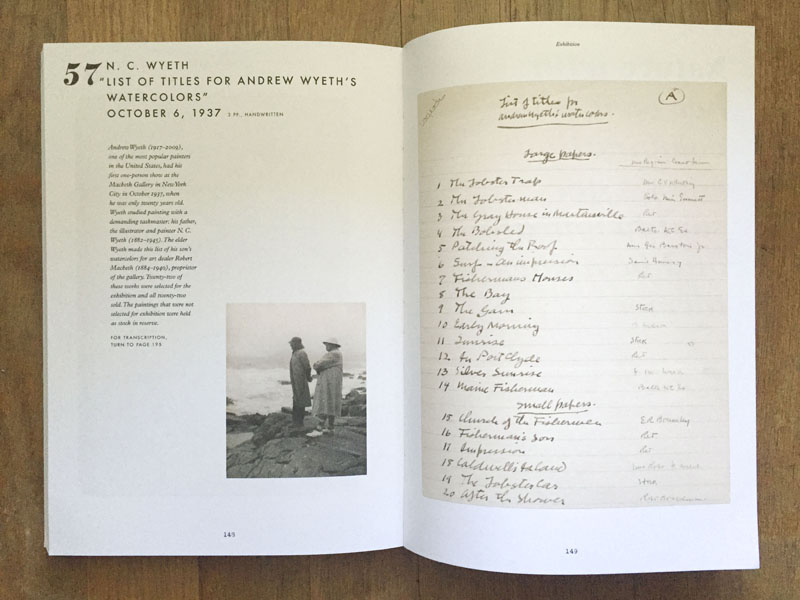 Lists: To-dos, Illustrated Inventories, Collected Thoughts, and Other Artists' Enumerations from the Collections of the Smithsonian Museum