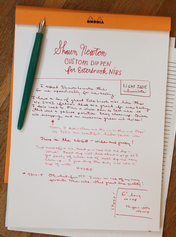 Shawn Newton Custom Nib Holder