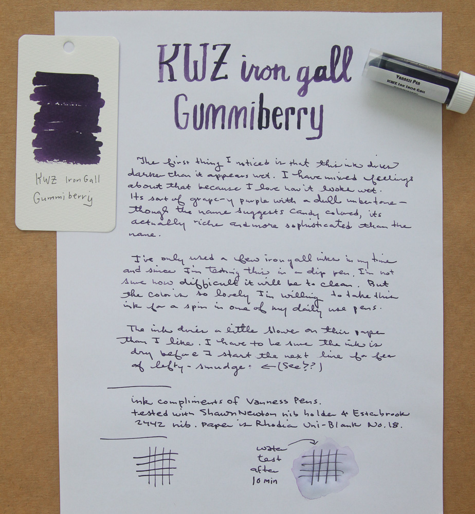 KWZ Iron Gall Gummiberry