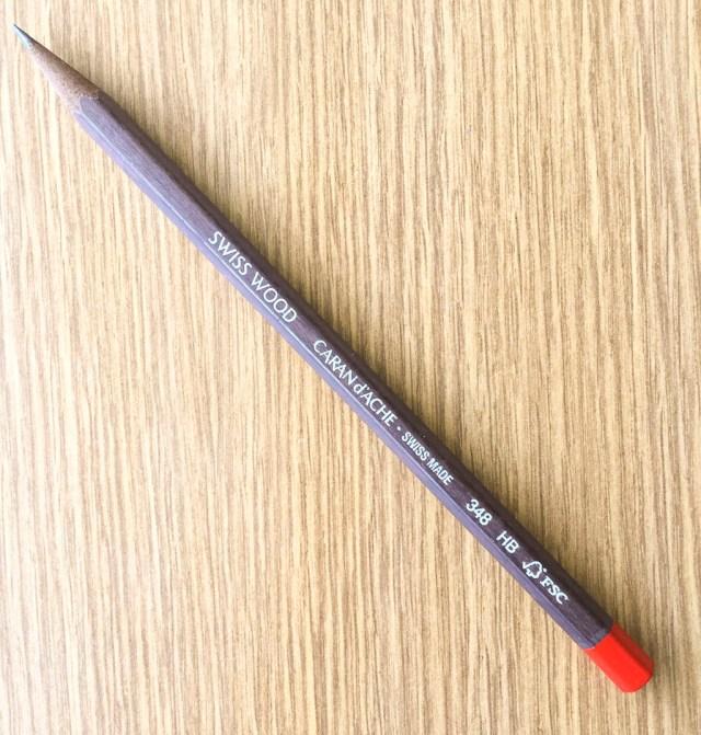 Caran d'Ache Swiss Wood Pencil HB