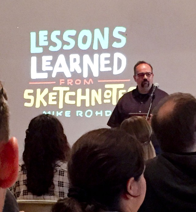Mike Rohde Sketchnotes Lecture