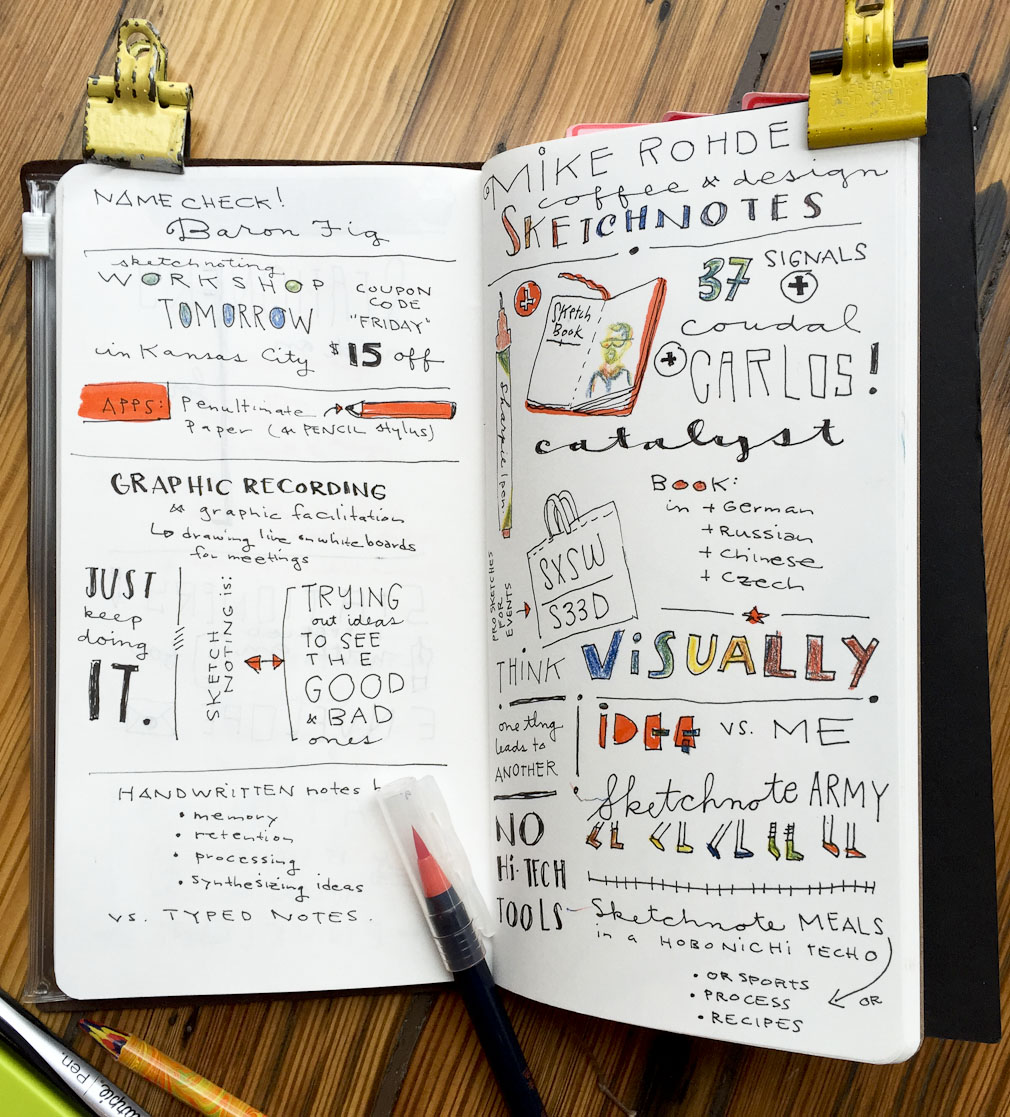 (my sketchnotes from the lecture this morning)