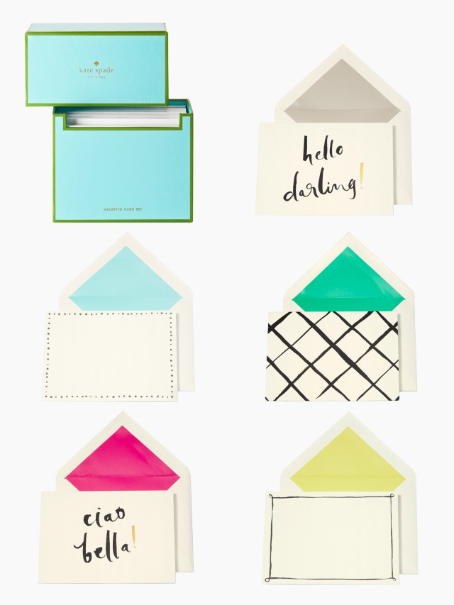 Kate Spade Hello Darling Stationery Set