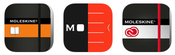 moleskine app icons