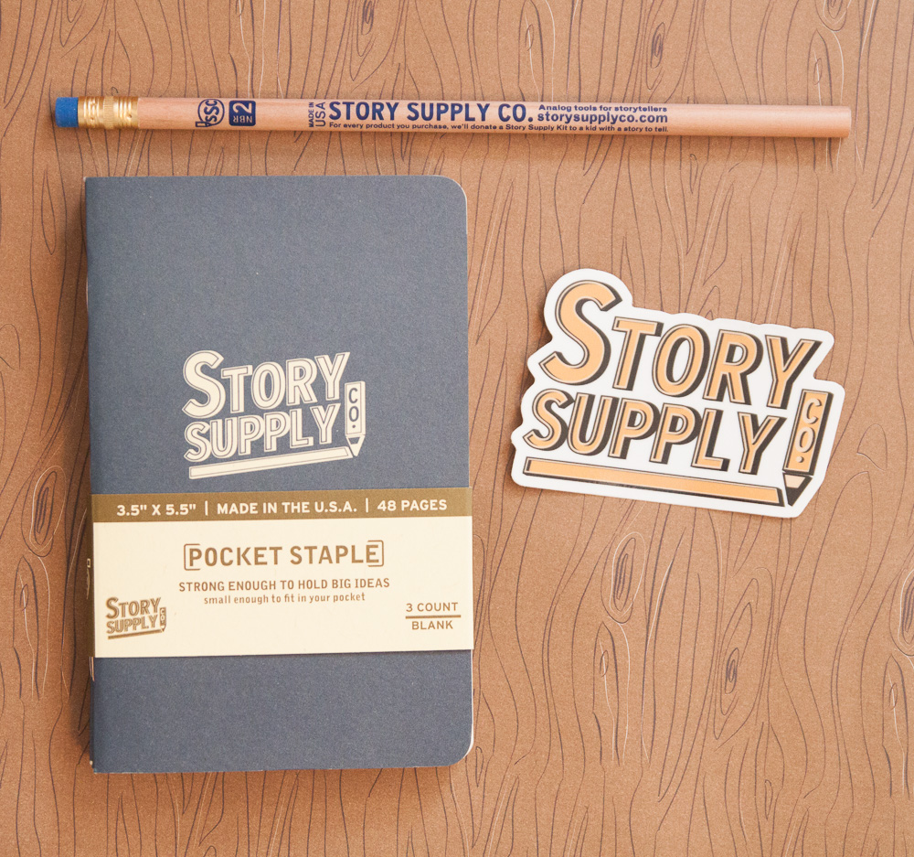 Story Supply Co. notebook