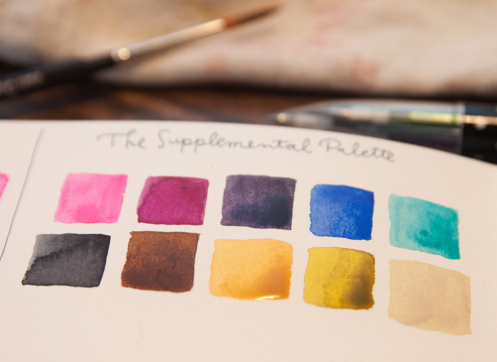 Supplemental Watercolor Set