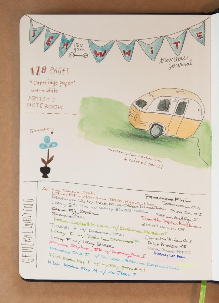 Seawhite Travel Journal A5