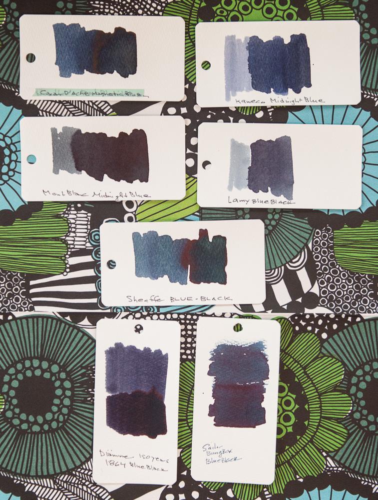 Bung Box Blue-Black ink