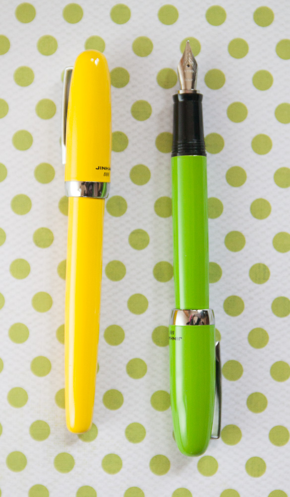 Jinhao 886 fountain pens