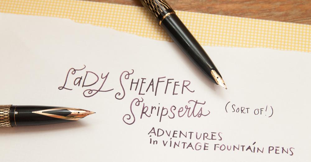 Pens sheaffer ink Inkpen Vintage