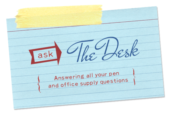 Ask The Desk: Waterproof Ink & More Refill Questions
