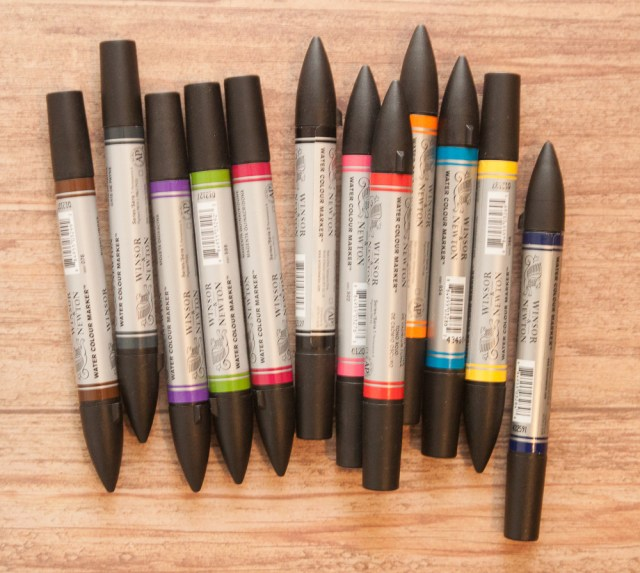 Winsor & newton Watercolor Markers