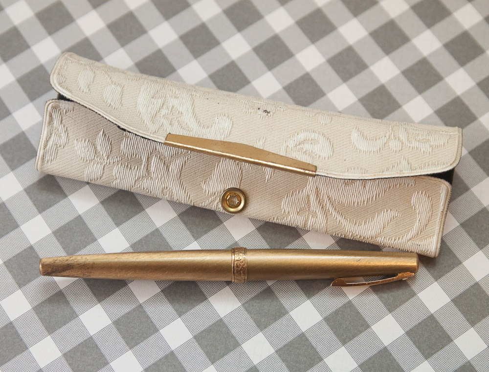 lady sheaffer gold