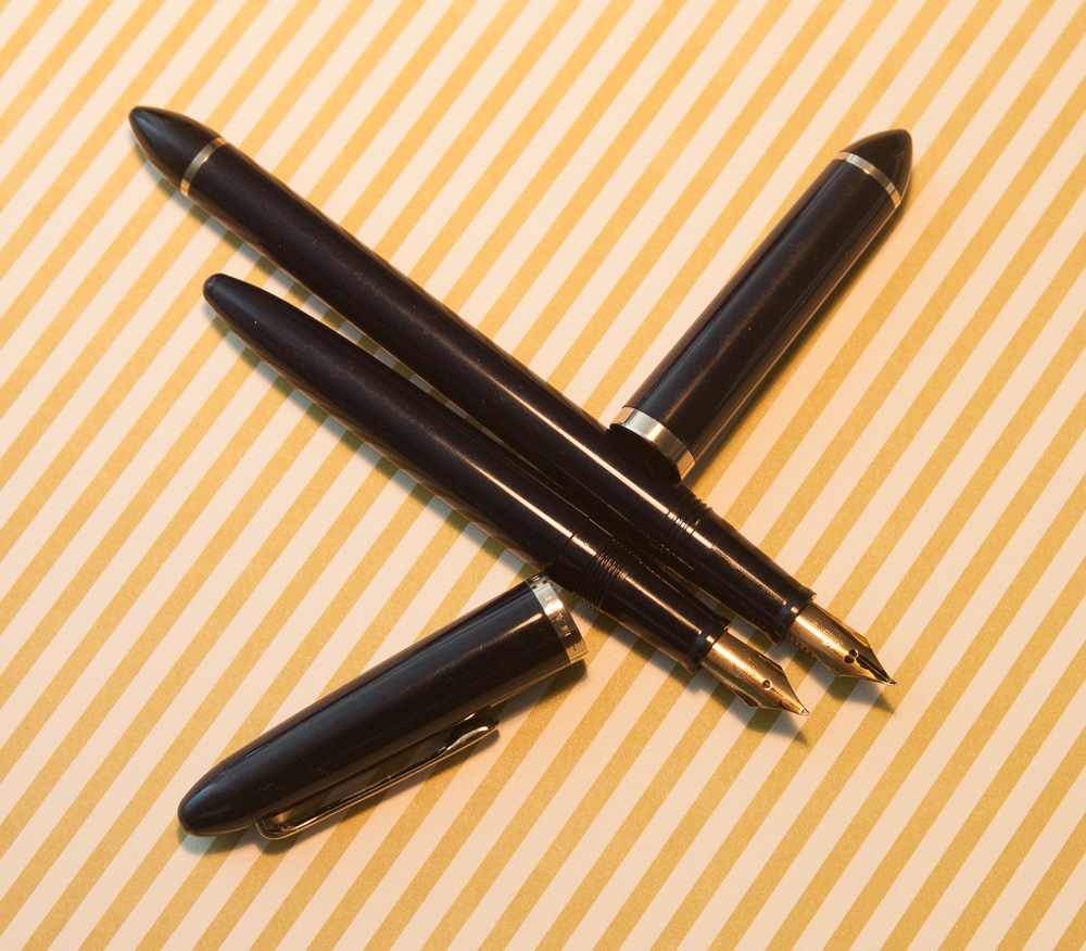 Sailor Fude de Mannen fountain pens