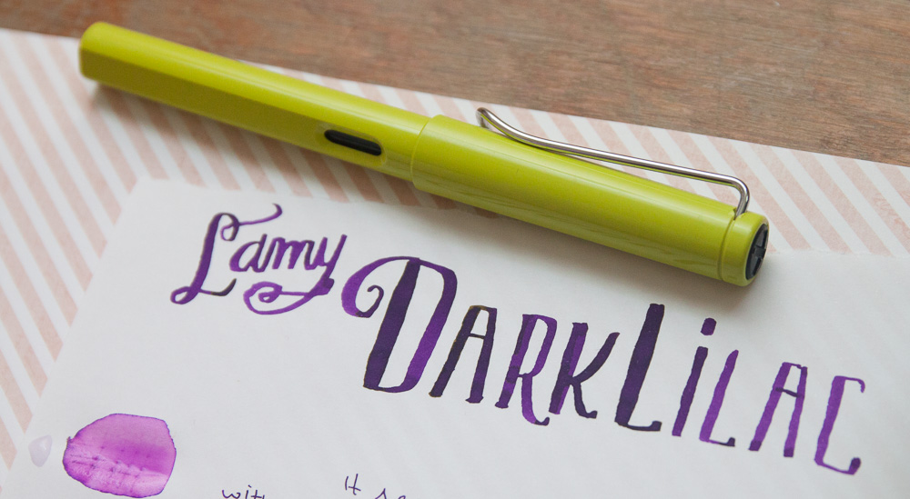 Lamy Dark Lilac Ink
