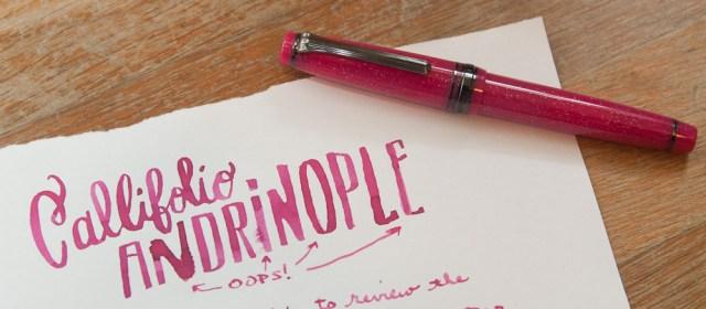 Callifolio Andrinople Ink