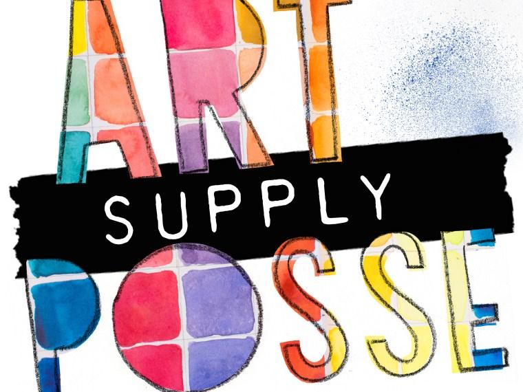 Hey, Art Supply Posse Fans!
