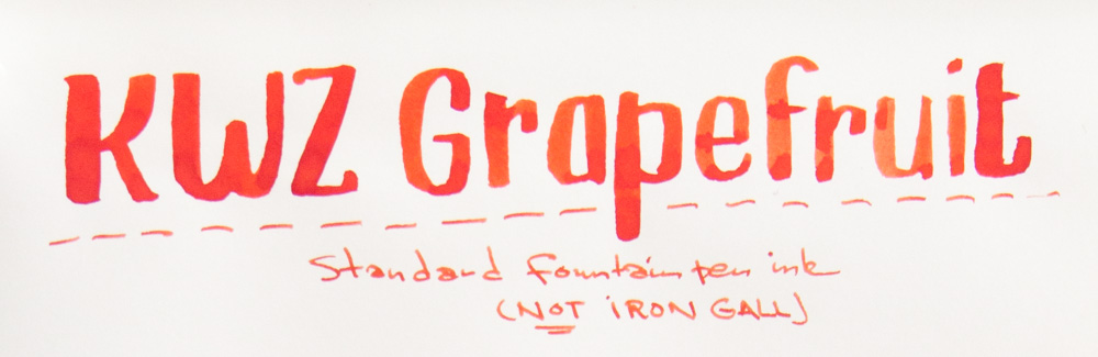 KWZ Grapefruit Ink