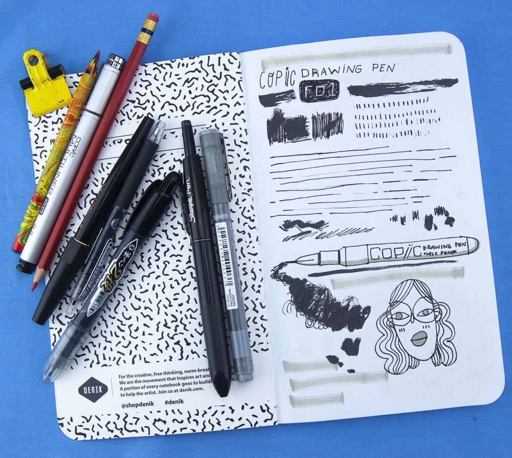 Denik Copic Fountain Pen