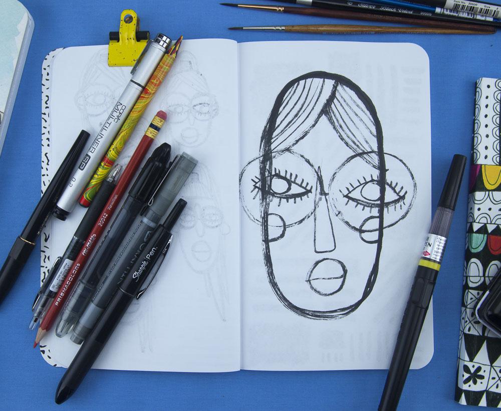 Denik brush pen