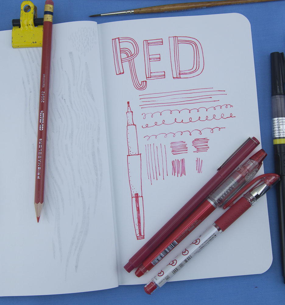 Denik Red pen test