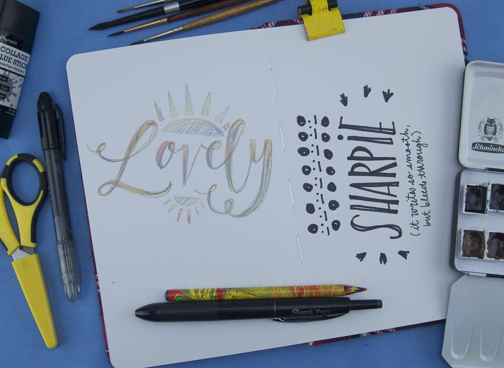Denik Pencil and Sharpie