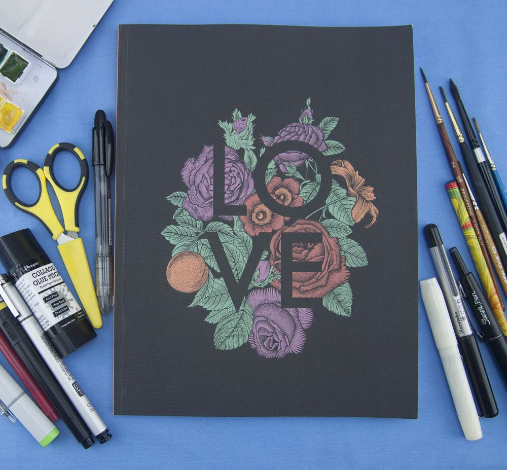 Denik Love Sketchbook
