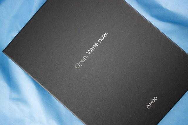 Moo Notebook presentation box