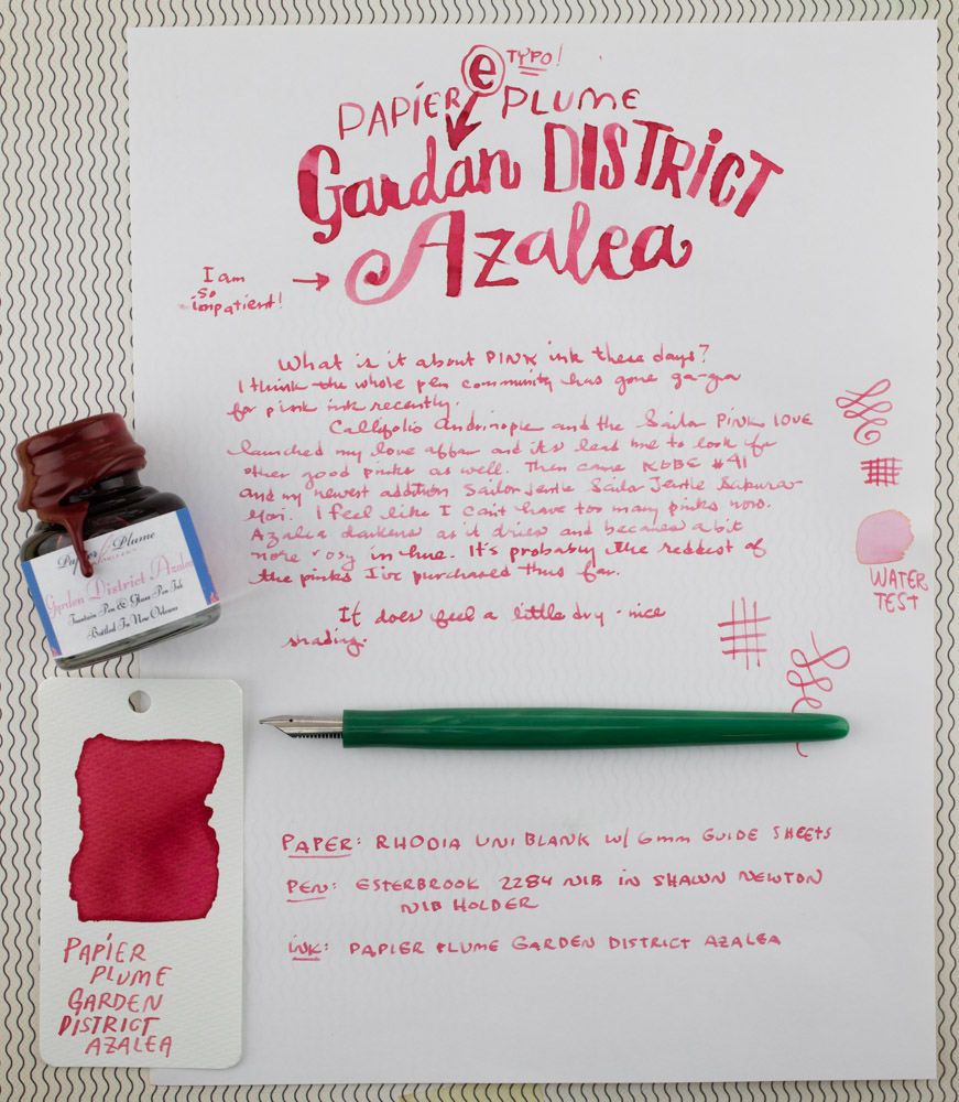 Papier Plume Garden District Azalea