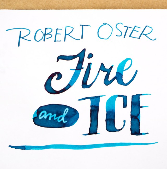 Robert Oster Fire & Ice