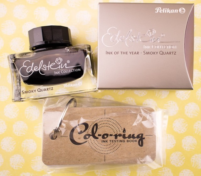 Pelikan Edelstein Smoky Quartz Giveaway Package
