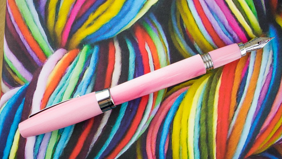 Montegrappa Felicita Fountain Pen in Sugar Pink Dust