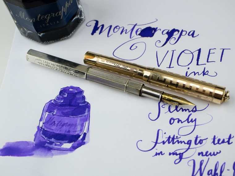 Ink Review: Montegrappa Violet