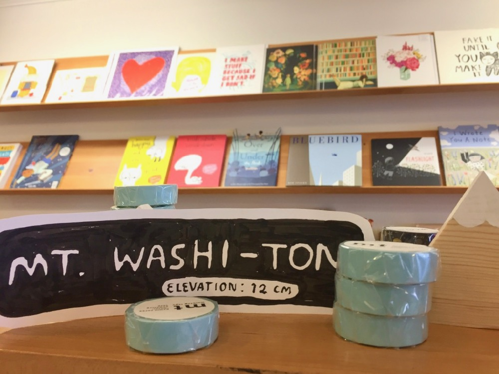 Wonderfair Washi-ton display
