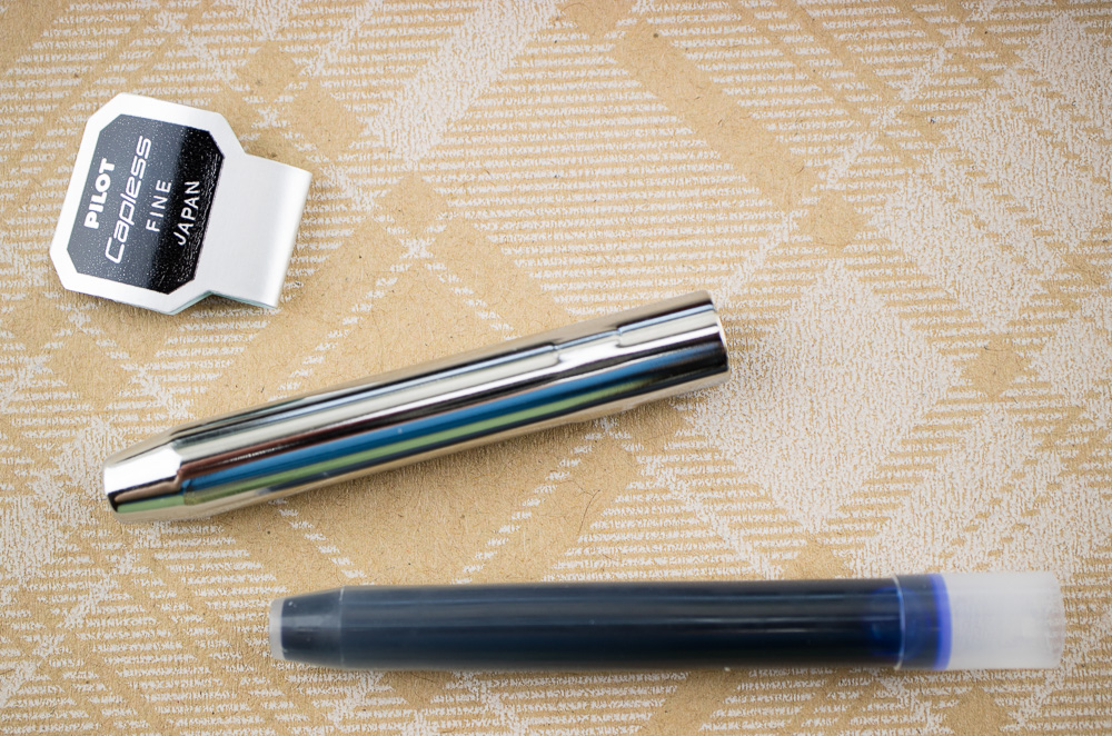 Pilot Decimo Fountain Pen cartridge & case