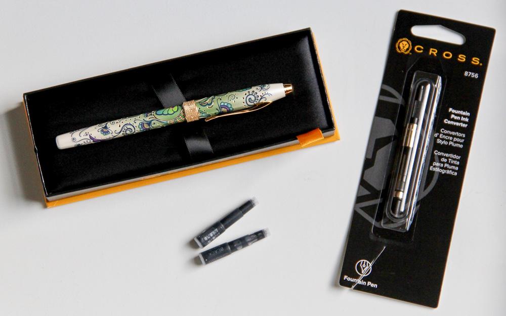 Cross Botanica Fountain Pen Packaging