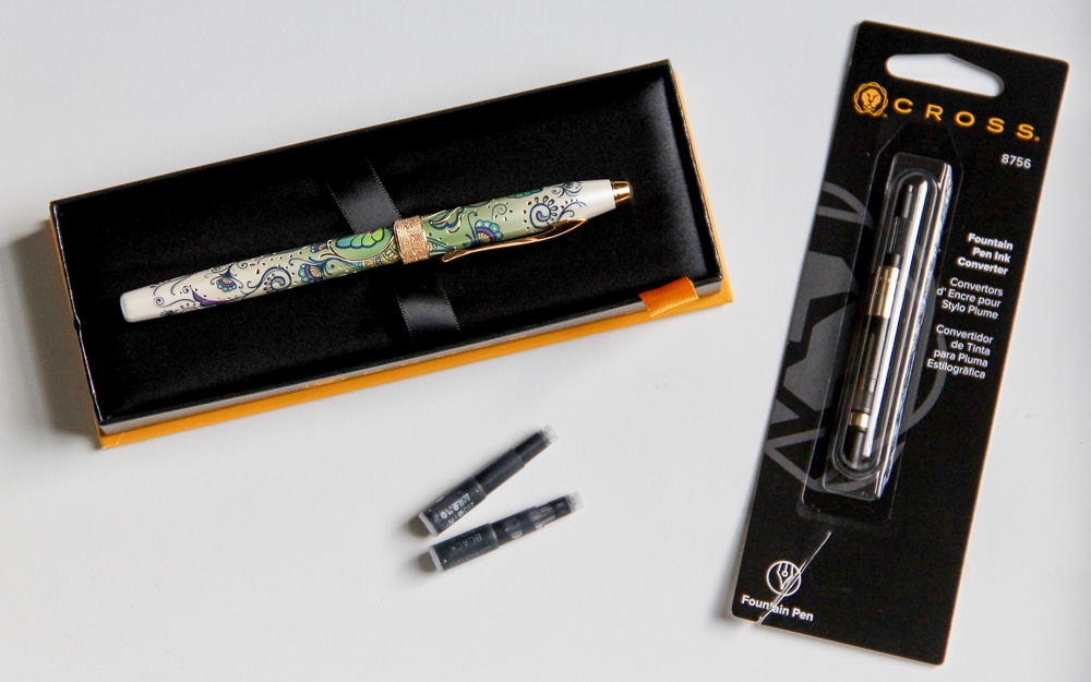 Cross Botanica Fountain Pen Packaging