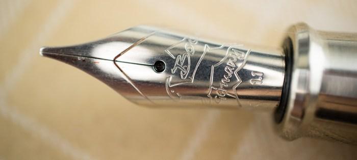 PIUMA Minimal polished stainless steel nib