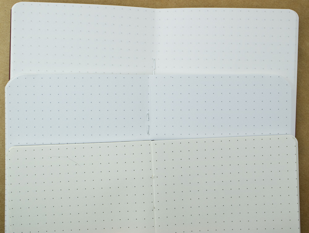 Rosetta Notes dot grid comparison