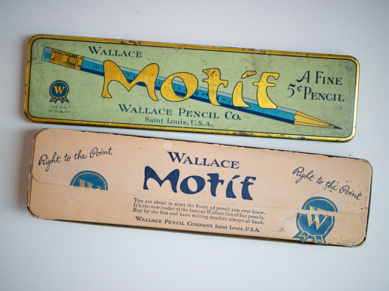 Photo of the Day: Wallace Motif Pencils