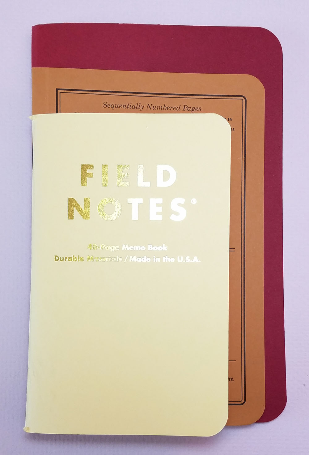 """notebook review field notes """"dime novel"""" edition the well  the first was the size 4 ¼ by 6 ½ inches patterned after the paperback format of the inspiration source it be unique in the notebook world"""