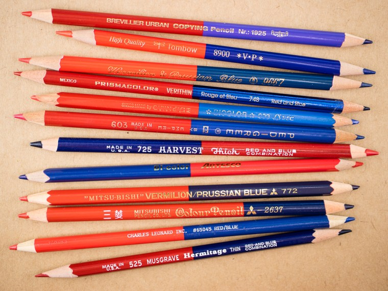Pencil Review: Red/Blue Combo Redo