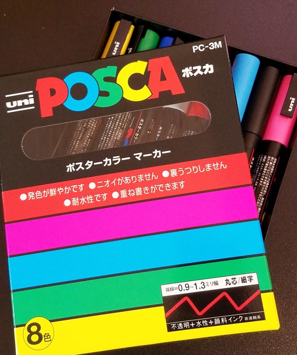 Pen Review: Uni Posca Paint Markers