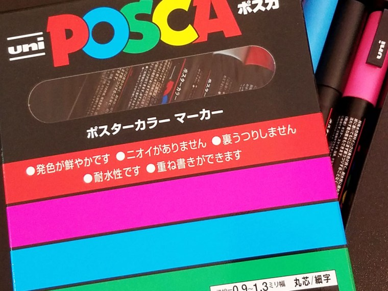 Pen Review: Uni Posca Paint Markers