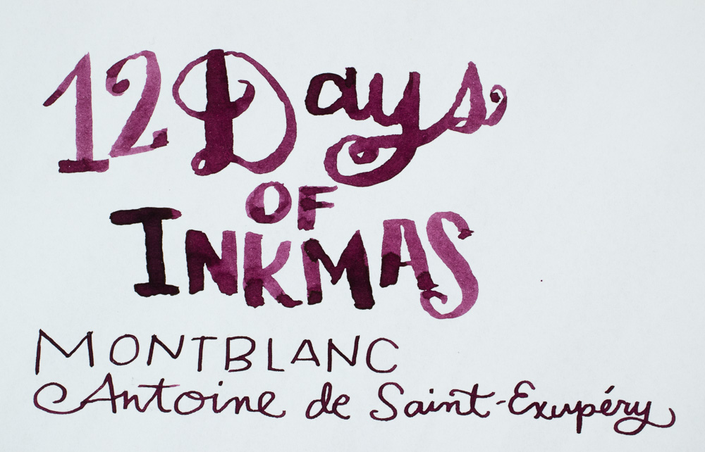 12 Days of Inkmas: MontBlanc Antoine de Saint-Exupéry